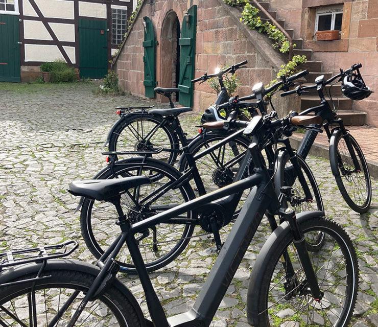 E-Bike Vermietung auf dem Gutshof